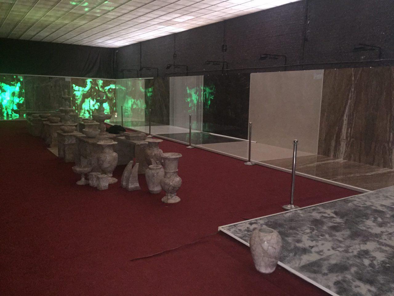 نمایشگاه اسلب سنگ سعیدی